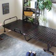 一人暮らしのベッドはコンパクトに